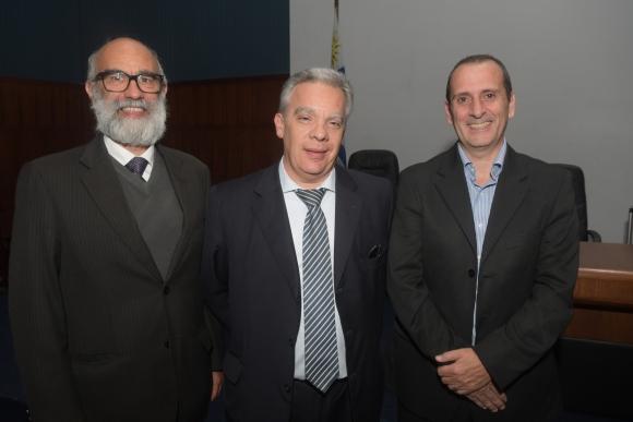 Juan Pedro Cantera, Jorge Ottavianelli, Fernando Barrán.