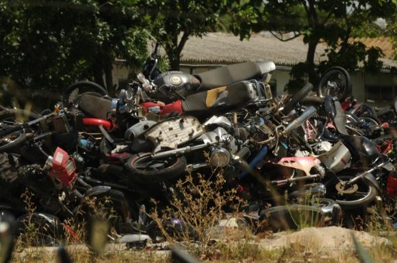 Intendencia necesita autorización judicial para proceder a destituir cientos de motos. Foto: F. Ponzetto