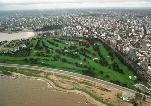 Vista aérea de Montevideo. Foto: Archivo El País
