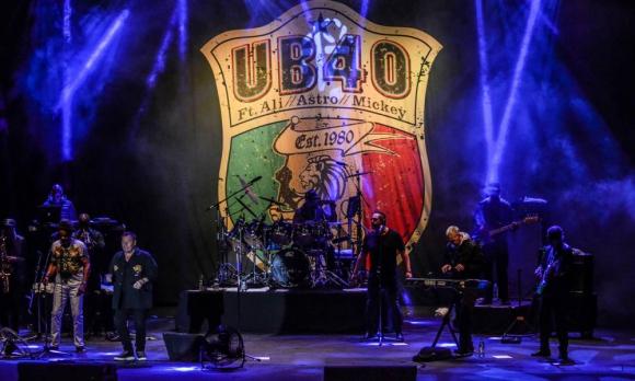 UB40 en el Teatro de Verano. Crédito Fernando Naviliat