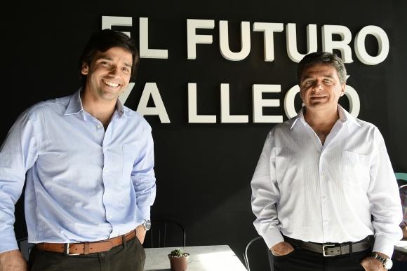 Liderazgo. Guillermo Borrazás es el gerente general de esta empresa fintech y Alejandro Hounie es socio y director. (Foto: Marcelo Bonjour)