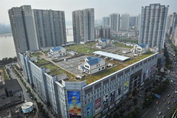 Ciudad jardín. Zhuzhou es una de las 33 ciudades chinas que alojan este tipo de construcciones.