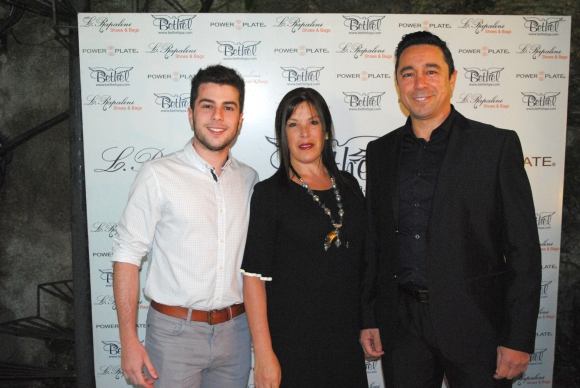 Manuel Padín, Lourdes Rapalín, Alvaro Padín