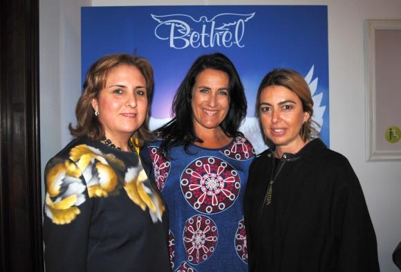 Pilar Rey, Sandra Sanguinetti, Tati Paz.