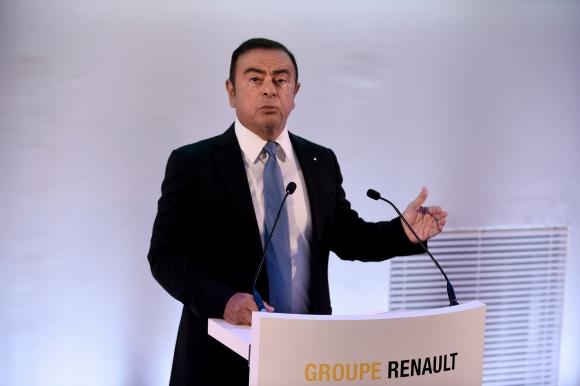 El presidente de Renault, Carlos Ghosn. (Foto: AFP)