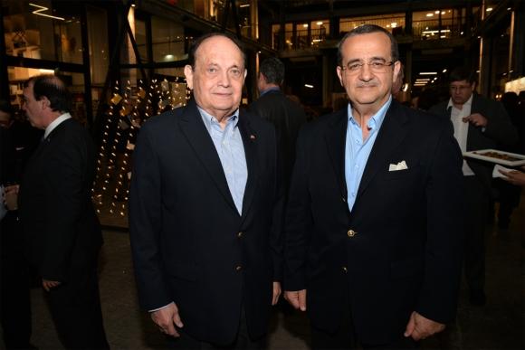 Embajador de Paraguay Luis Enrique Chase Plate, Embajador de la República Árabe de Egipto Amr Abbas Abdelhadi.