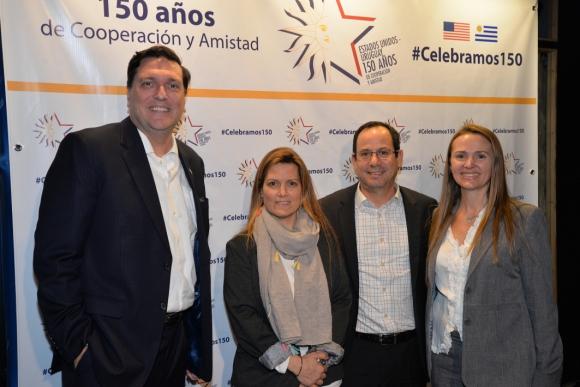 Mark Kendrick, Ana Inés Díaz, Juan Carlos Silva, Mariana Benech.