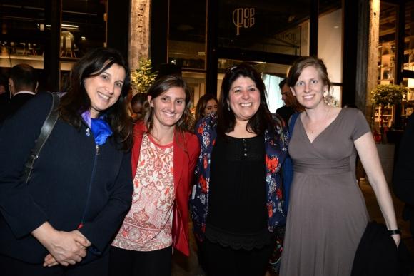 Silvana Guerra, Cecilia Erhardt, July Zabaleta,Tabatha Fairclough.