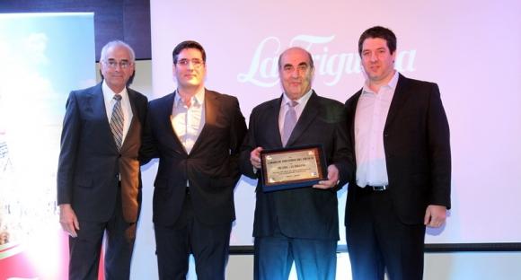 Héctor Tastas, Diego, Anselmo y Ruben Pereira.
