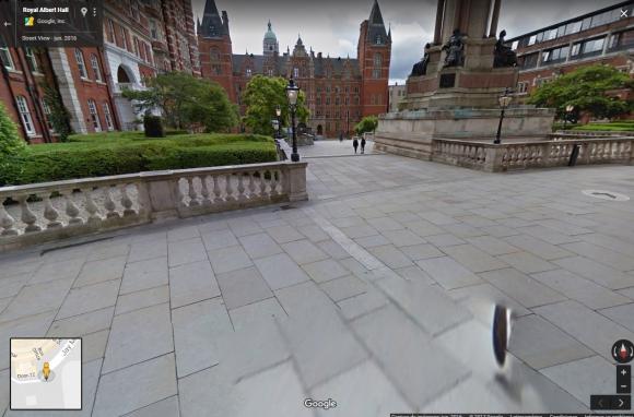 El único requisito es contar con la cámara adecuada. Foto: Captura Street View