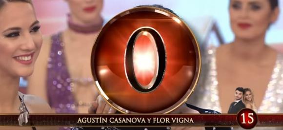 El 0 en la cara a Agustín Casanova