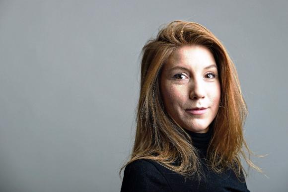Kim Wall, la periodista sueca asesinada. Foto: AFP.