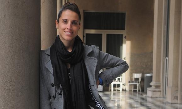 María Noel Ricceto, primera bailarina del Ballet del Sodre. Foto: Archivo El País