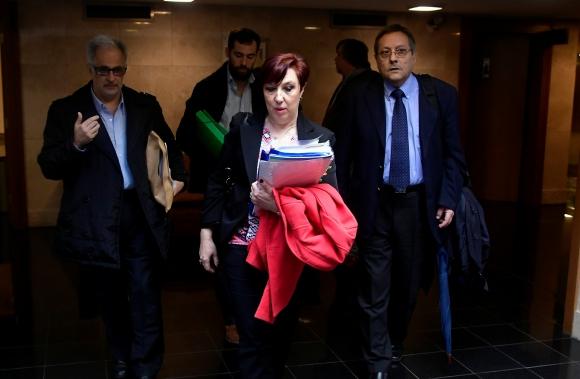 Susana Muñiz en el Parlamento. Foto:Fernando Ponzetto
