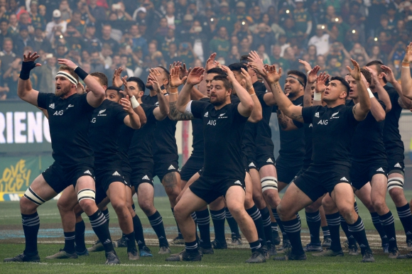 All Blacks. Foto: AFP.