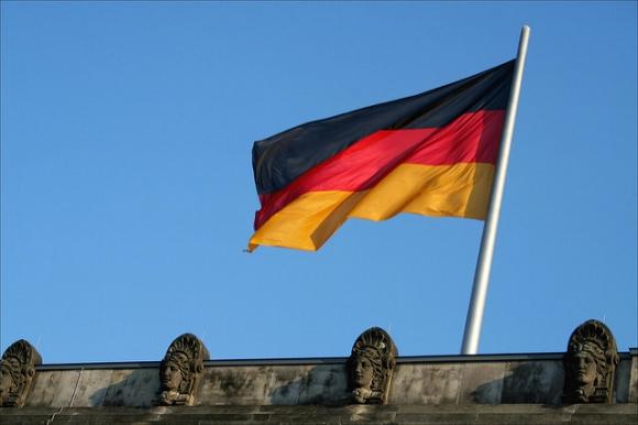 Bandera alemana. Foto: Flickr