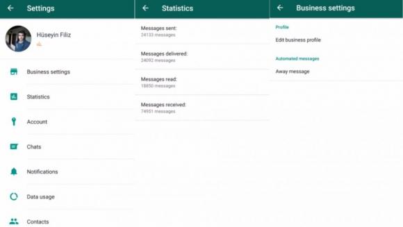 Filtración de Whatsapp para empresas. Foto: Android Police