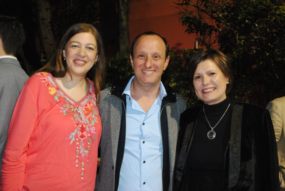 Dinorah Margounato, Pipe Stein, Teresa Cometto.