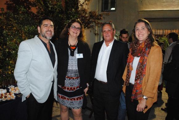 Sergio Alvarez, Silvia Szylkowski, Pablo Hartmann, Marcela Mailhos.