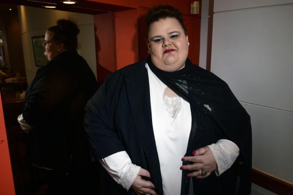 Suárez denunció la muy baja expectativa de vida de los trans. Foto: Fernando Ponzetto