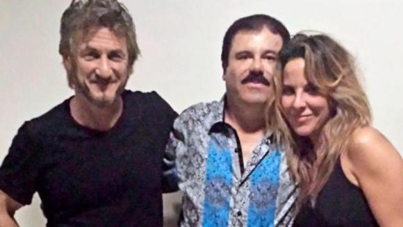 Sean Penn, Chapo Guzmán y Kate del Castillo