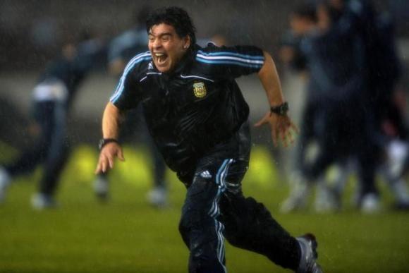 El mensaje de Diego Maradona por la clasificación argentina a Rusia