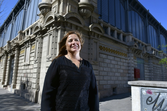 María Elisa Areán, directora del Mercado Agrícola de Montevideo