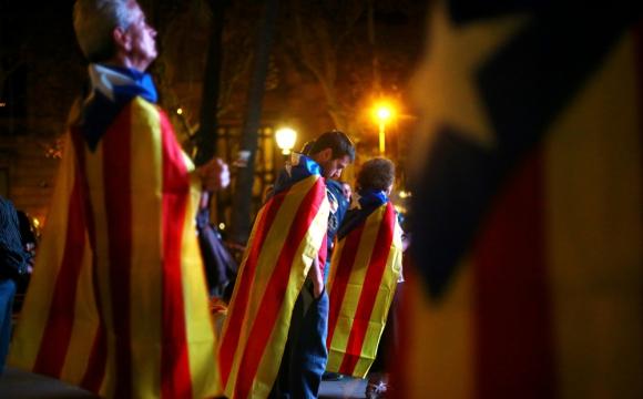 Barcelona: algo más del 40% de los catalanes apoya la secesión. Foto: Reuters