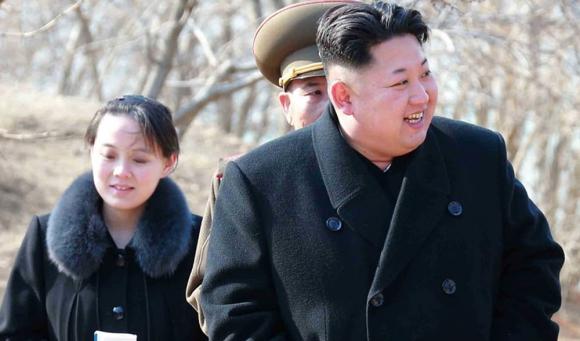 Kim Yo-Jong, hermana menor del líder norcoreano. Foto: AFP