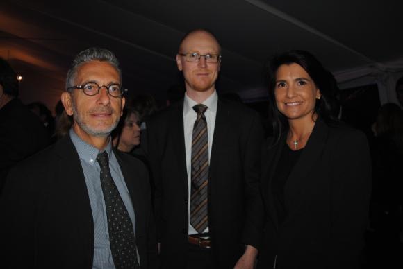 Andrea Nicolaj, Tomás Gorisek, María José Albarracín.