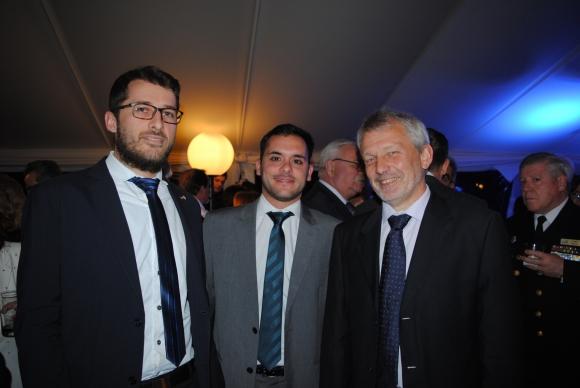 Christian Toews, leonardo Fernandez, Manfred Steffen.