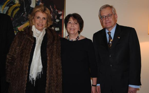 Julia Rodríguez Larreta, Johanna Von Voss, Embajador de Alemania Ingo Von Voss.