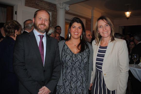 Robert Woelke, Alejandra Hernández, Elena Hartwig.