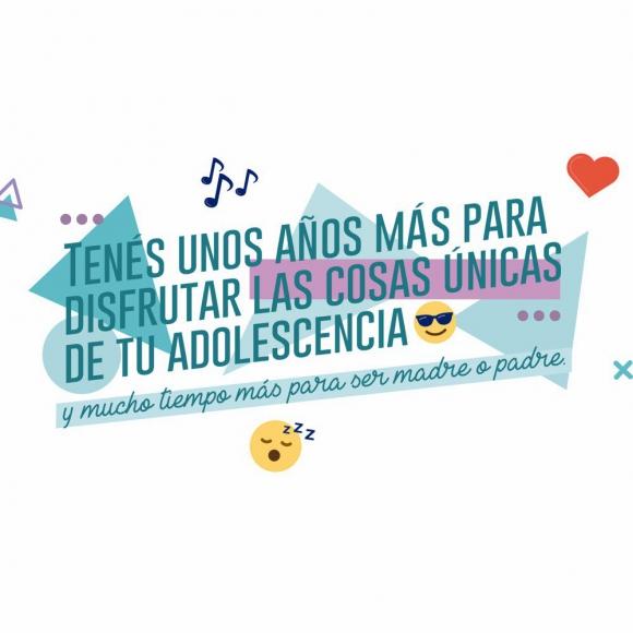 Campaña de prevención de embarazo no intencional adolescente. Foto: @MEC_Uruguay