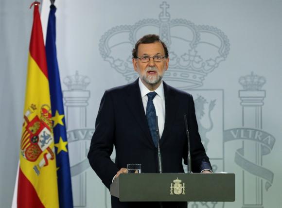 Mariano Rajoy, presidente del gobierno español. Foto: Reuters.