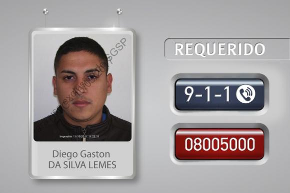 Diego Gastón Da Silva Lemes se fugó de la cárcel de Canelones. Foto: Unicom.