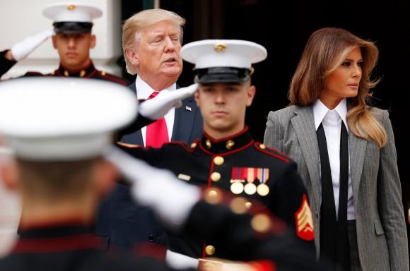 """Trump usa la expresión """"noticias falsas"""" cuando no le gusta una información. Foto: Reuters"""