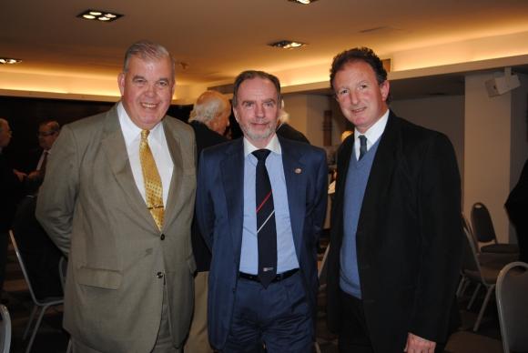 Alberto Christian Márquez, Roberto Linn, Edgardo Ettlin.