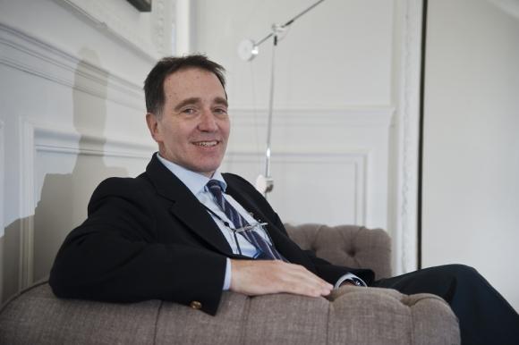 Carlos Végh, economista jefe del Banco Mundial. Foto. Fernando Ponzetto