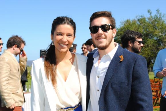 Fabiana Fernández, Juan Francisco Irrazabal.