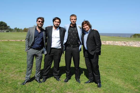 Juan Cruz Mutio, Martín Colombo, Juan Francisco Tabárez, Gonzalo Morán.