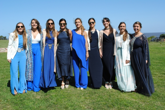 Sofía Cabrera, Florencia Gimeno, Sofía del Campo, Helena Betolaza, Pilar Bayce, Lucía Carrau, Agustina González, Agustina Cordone, Renata Cantou.