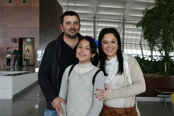 Wilson Basile, Gabriela Ferrando, Agustina Basile.