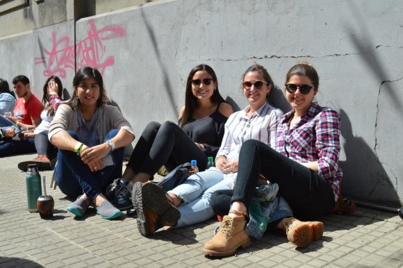 Madeline Guerrero, Camila Alvez, Sabrina Ingold, Ana Clara Pinazzo.