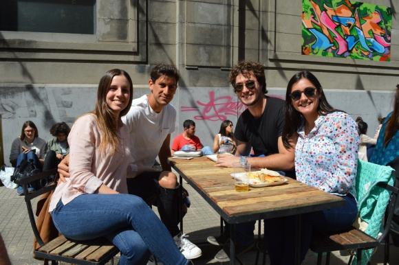 Valentina Valla, Bruno Piñatares, Marcelo Neirman, Verónica Rodríguez.