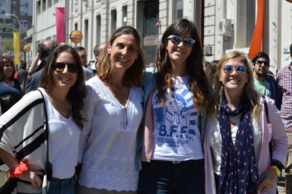 Alejandra Yaybek, Gabriela Cibils, Florencia Yannotti, Valentina Schafener.