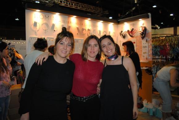 Déborah Kaiser, María Inés Larraburu, Dinorah Kaiser.
