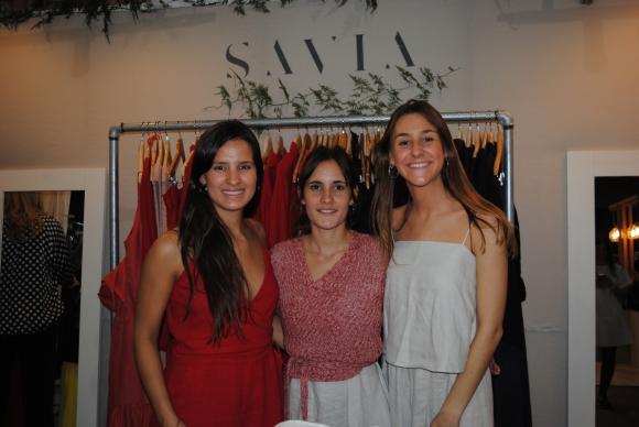 Helena Betolaza, Lucila Gomensoro, Agustina Decia.