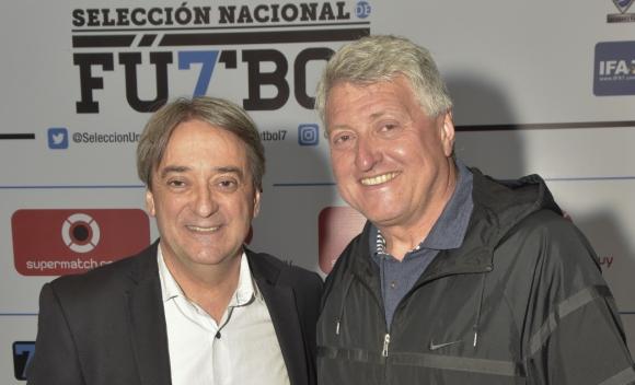 Fernando Cáceres, Sergio Gorzy.