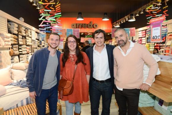 Felipe Pastorino, Paola Ruggeri, Martin Calabria, Marcelo Salvatierra.